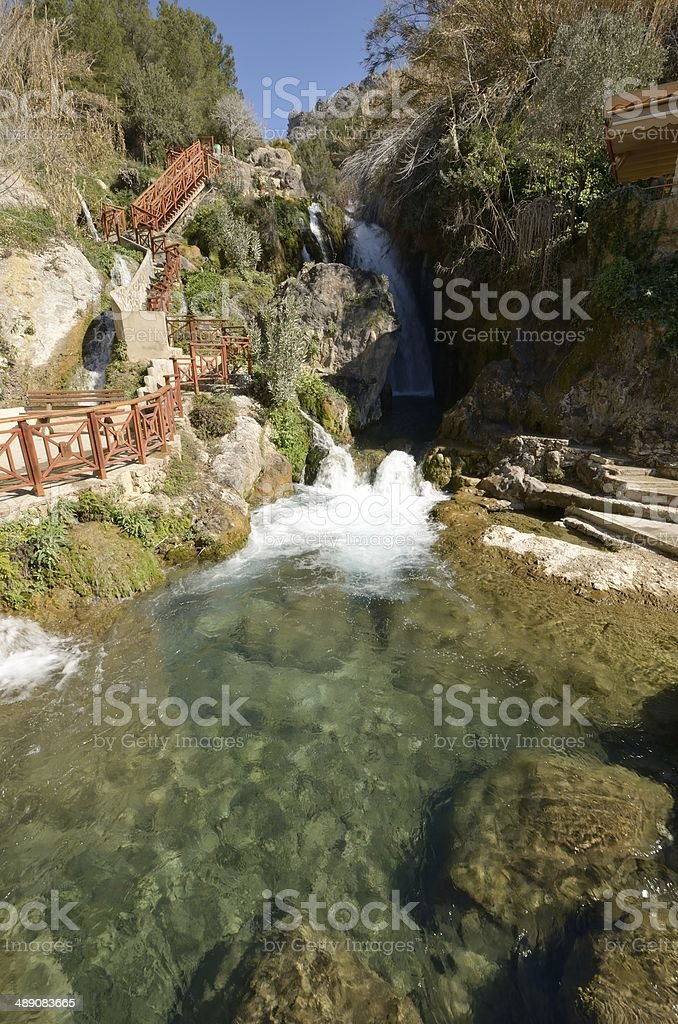 Fuentes del Algar stock photo