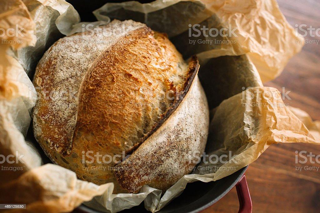 Sourdogh Artisan Bread stock photo