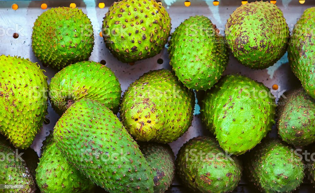 Soursop or Guanabana stock photo