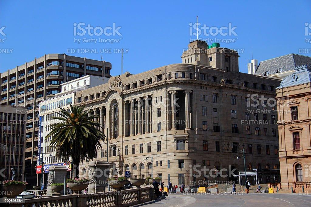 South Africa: Church Square (Kerkplein) in Pretoria stock photo