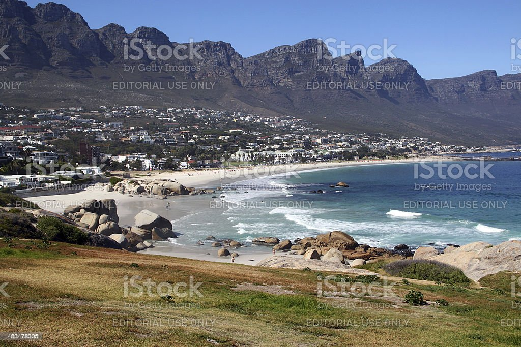 South Africa: Clifton Beach stock photo