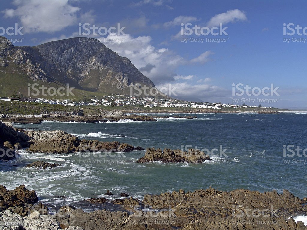 South Africa Coast stock photo