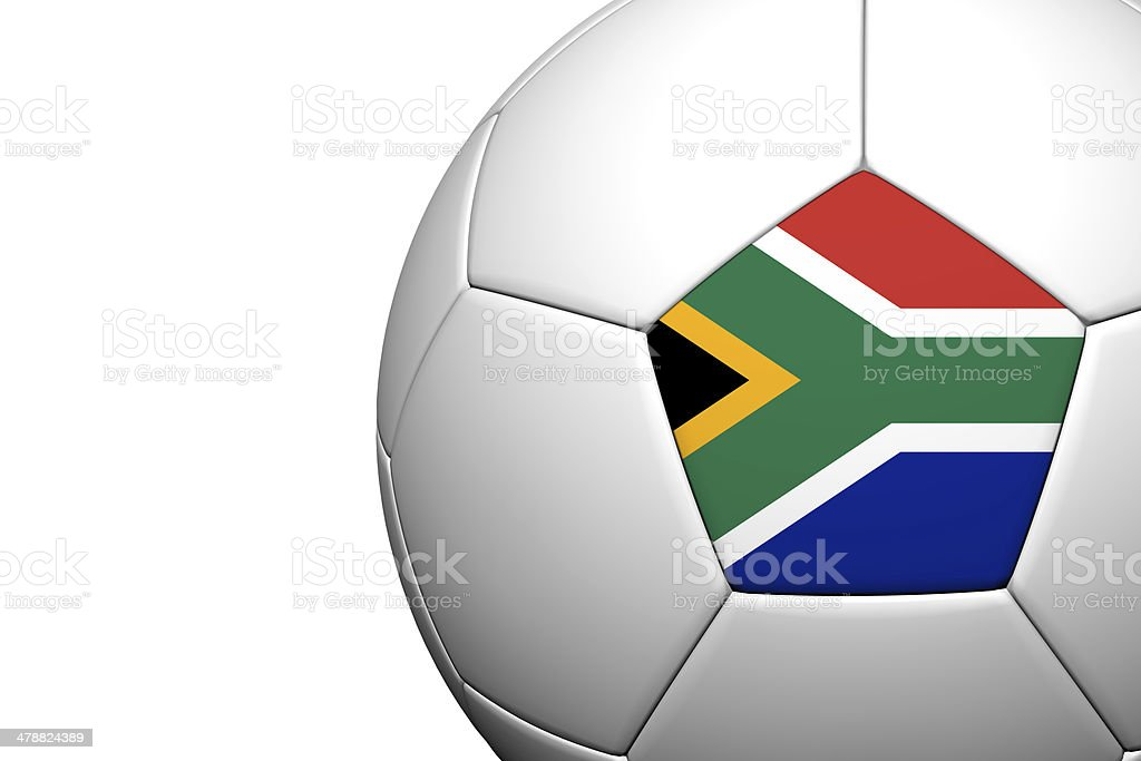 South africa Flag Pattern 3d rendering stock photo