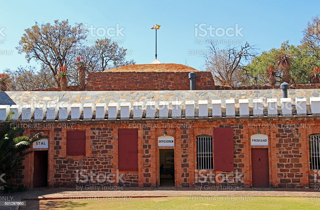 South Africa: Fort Schanskop in Pretoria stock photo