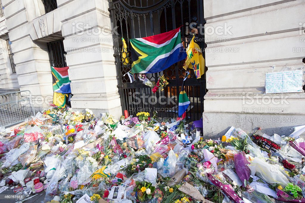 South Africa House in Trafalgar Square, London royalty-free stock photo