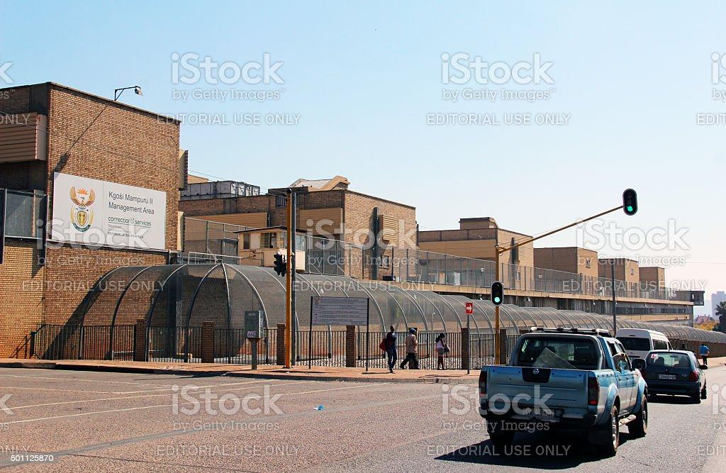 South Africa: Kgosi Mampuru II Correctional Centre in Pretoria stock photo