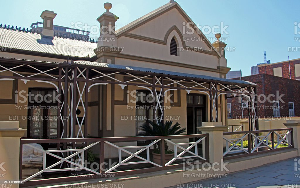 South Africa: Kruger House in Pretoria stock photo