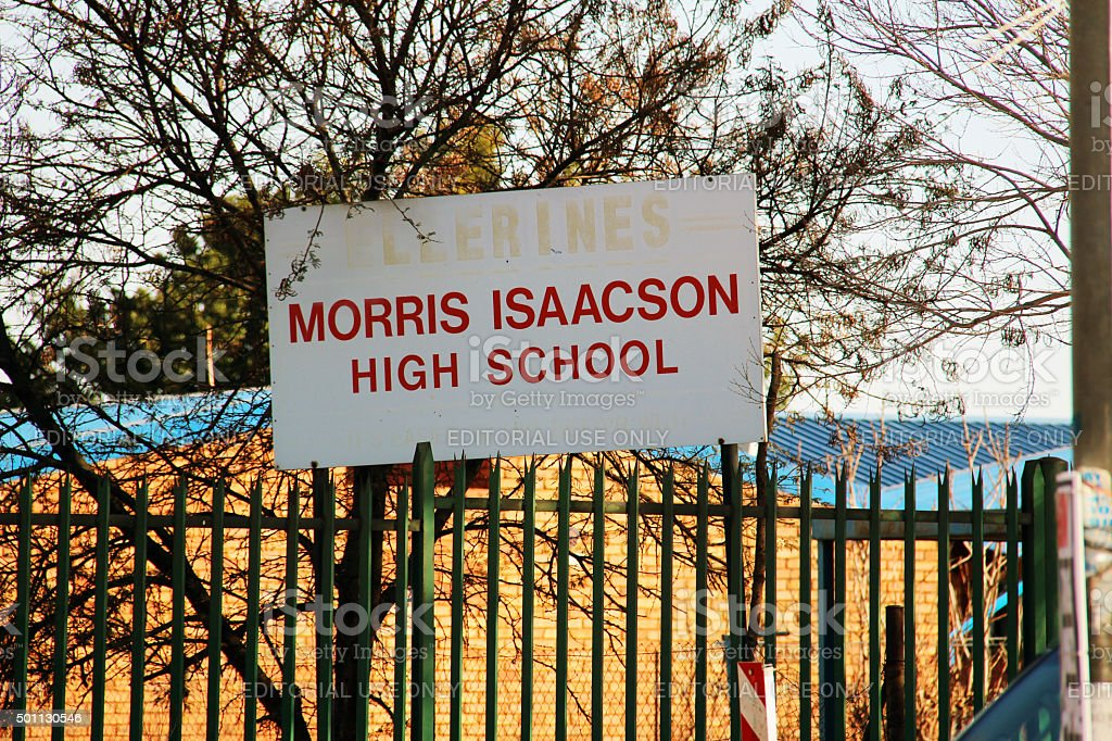 South Africa: Morris Isaacson High School (Soweto Uprising) stock photo