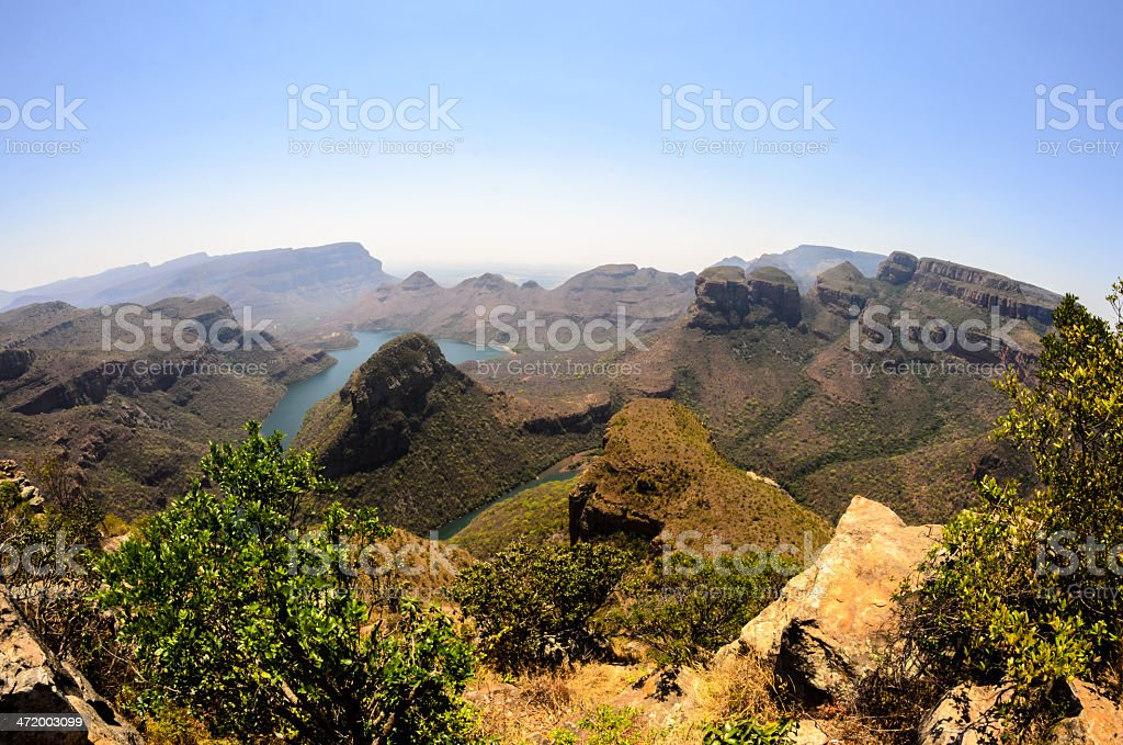 South Africa, Mpumalanga, , Blyde River Canyon stock photo