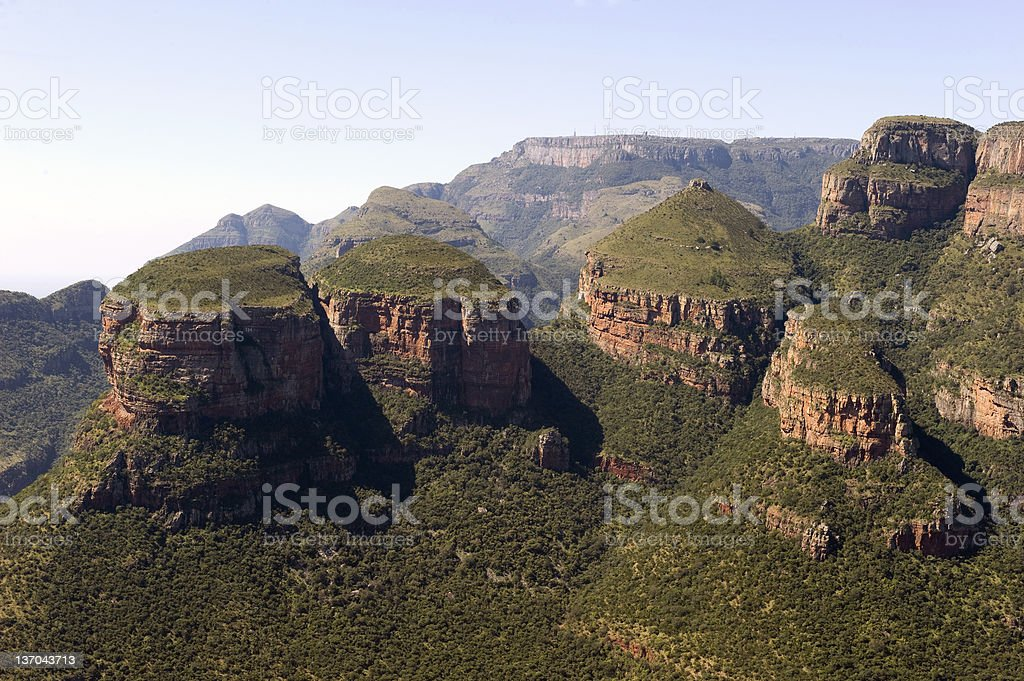 South Africa, Mpumalanga, Summer Scenics, Blyde River Canyon stock photo