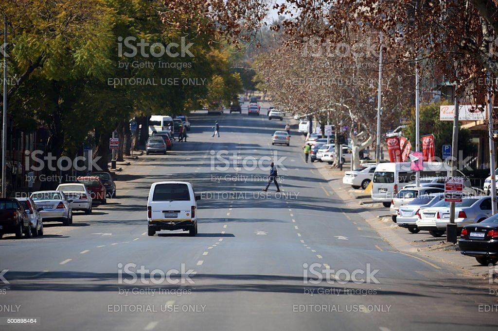 South Africa: Pretoria stock photo