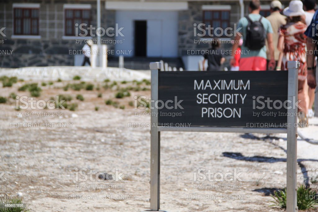 South Africa: Robben Island stock photo