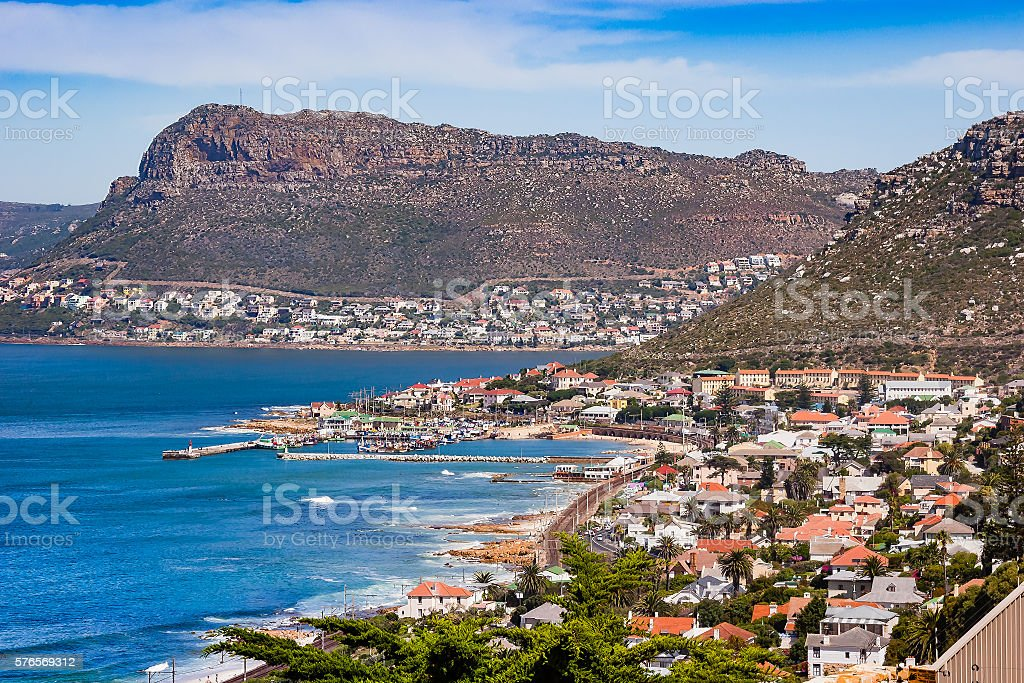 South Africa - Simon's Town in Cape Province stock photo