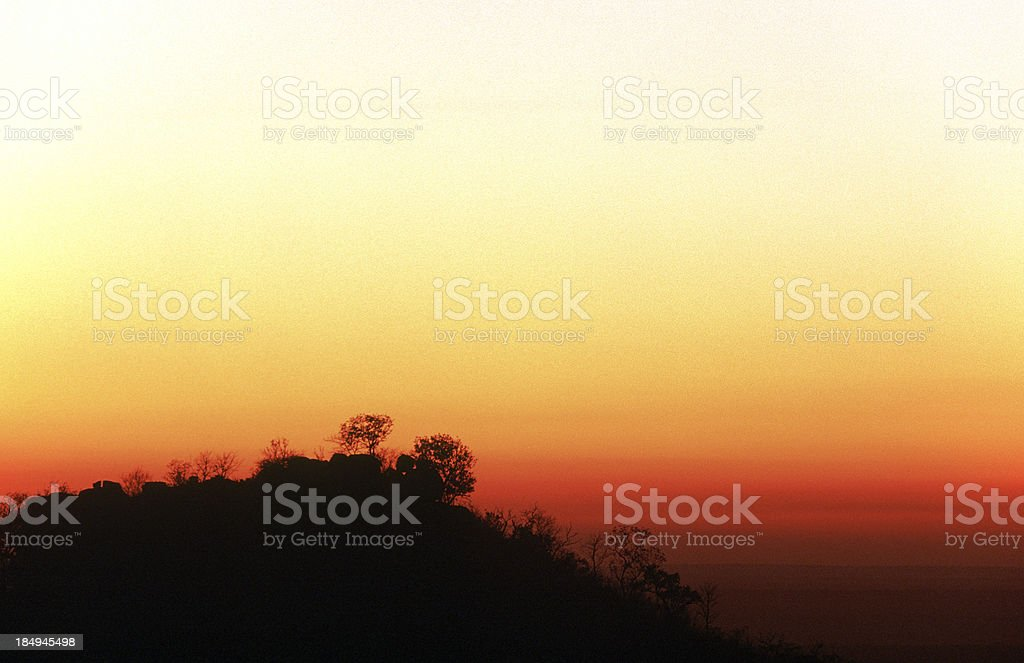 South Africa, sunrise. royalty-free stock photo