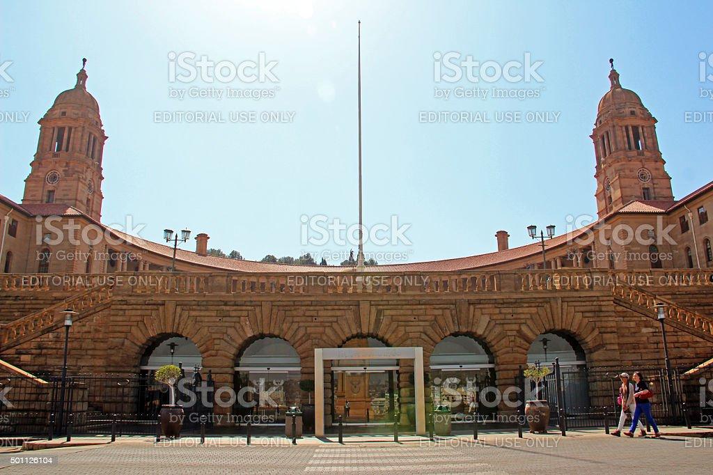 South Africa: Union Buildings in Pretoria stock photo