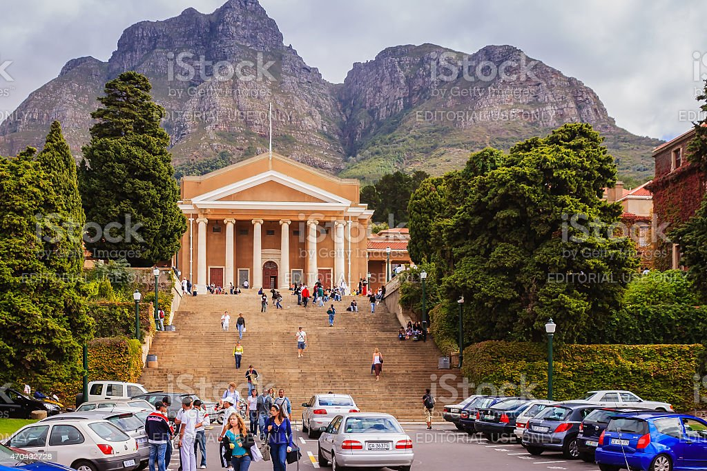 South Africa - University of Cape Town stock photo