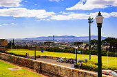 South Africa: view of city from University of Cape Town