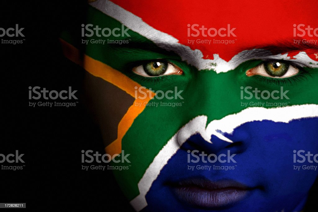 South African boy stock photo