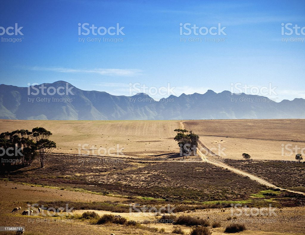 South African coutryside royalty-free stock photo