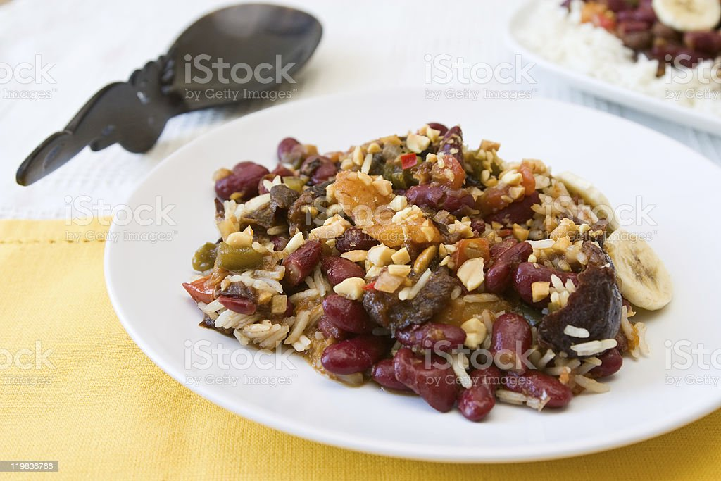 South African Curry royalty-free stock photo