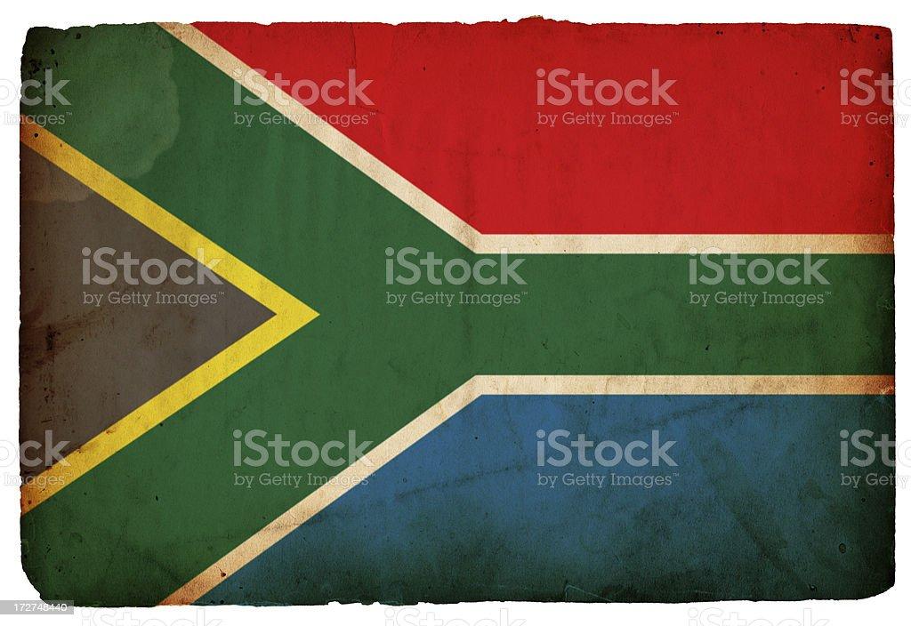 South African Flag XXXL royalty-free stock photo