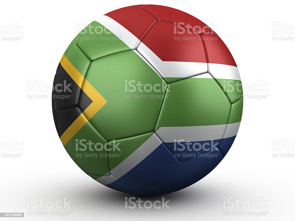 South African Football royalty-free stock photo
