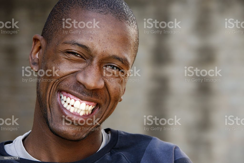 South African man royalty-free stock photo