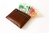 South African Rand in wallet