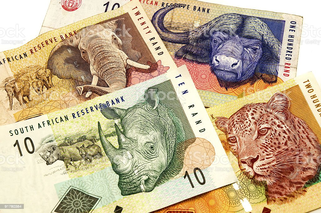 South African Rand royalty-free stock photo