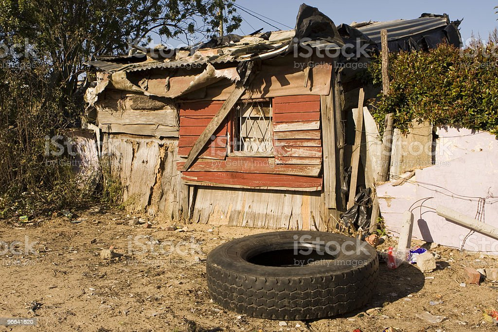 South African Shanty royalty-free stock photo