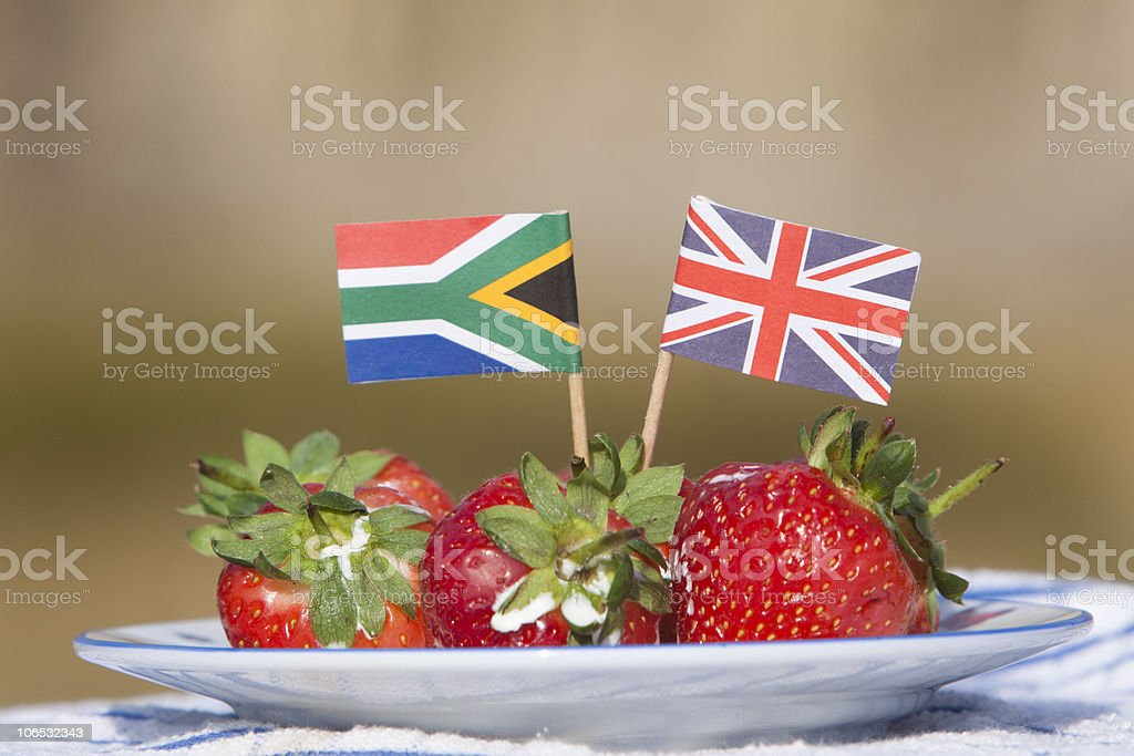 South Africa-UK bilateral relations stock photo