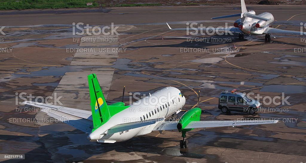 South Airlines Saab 340B stock photo