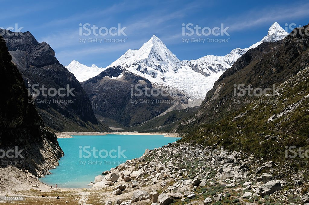 South America, Peru landscape stock photo