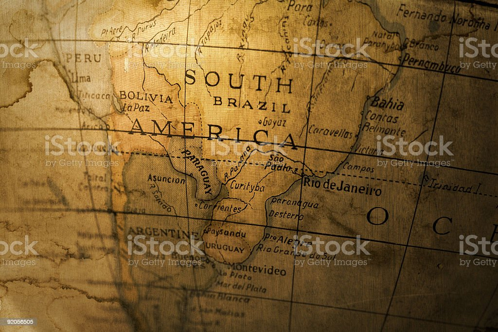 South America stock photo