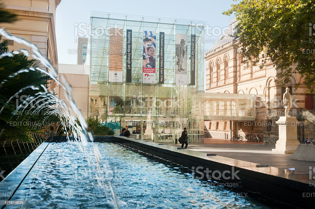 South Australian State Library stock photo