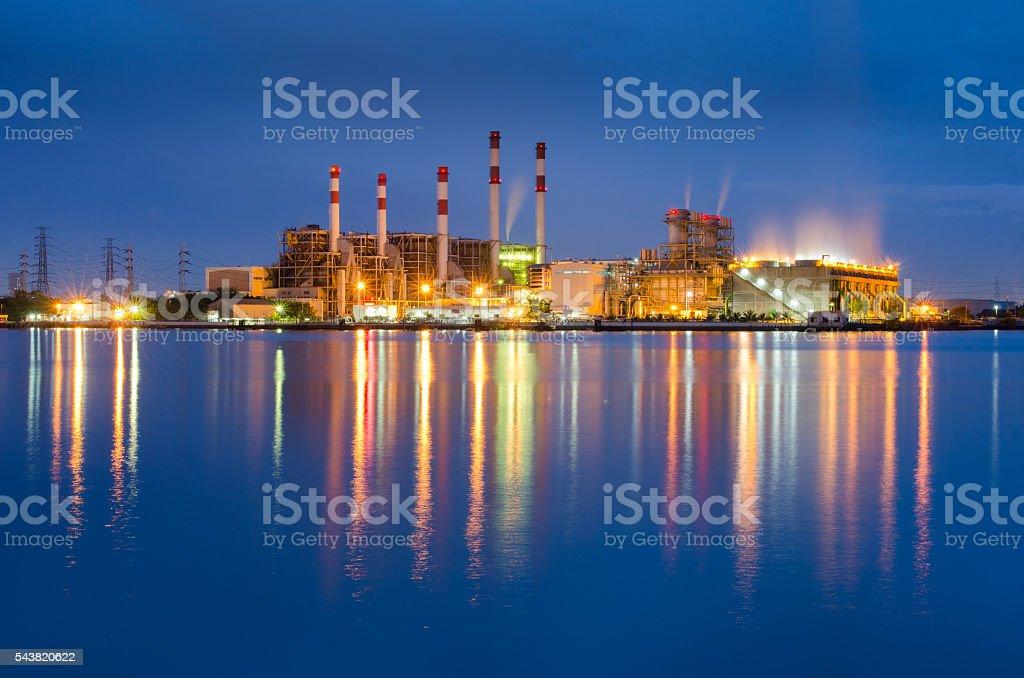 South Bangkok Power Plant stock photo