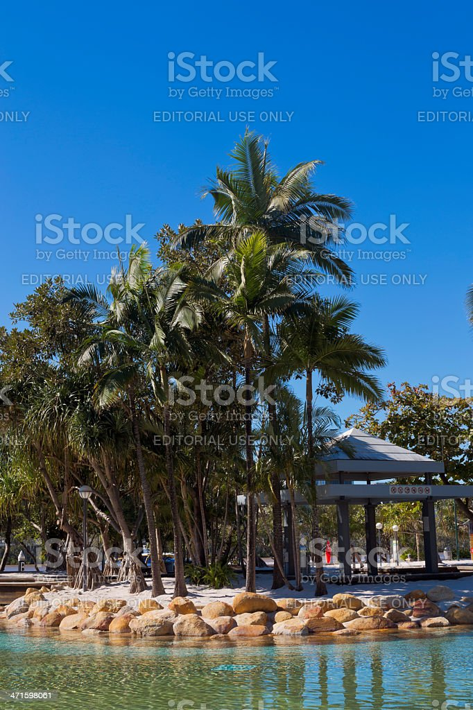 South Bank Parklands royalty-free stock photo