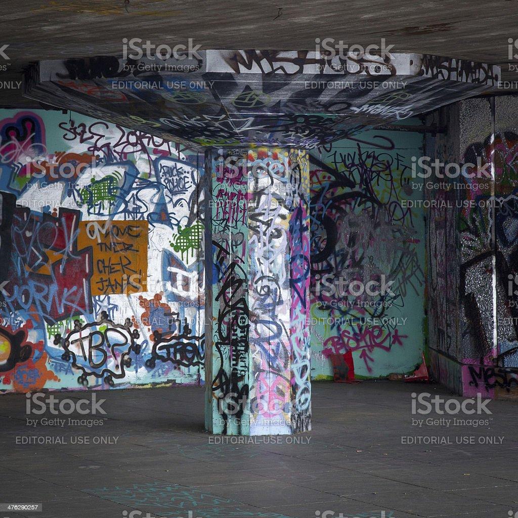 South Bank SkatePark royalty-free stock photo