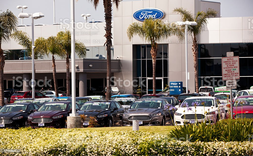 South Bay Ford Dealer royalty-free stock photo