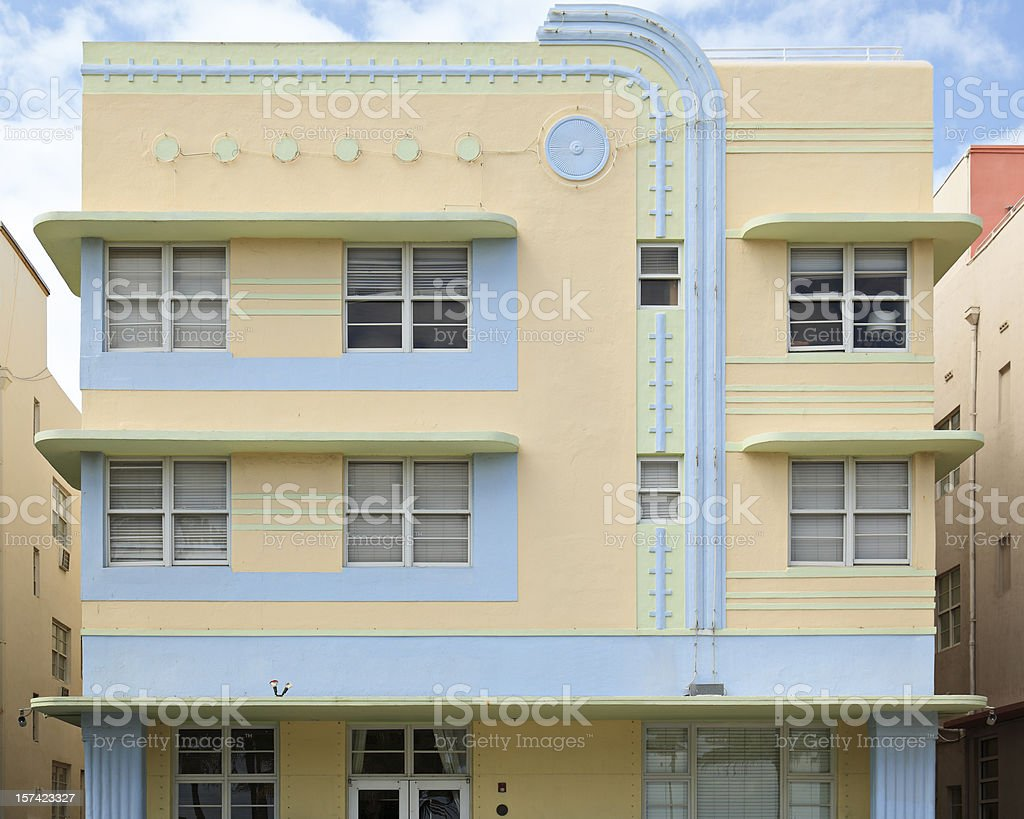 South Beach Architecture royalty-free stock photo