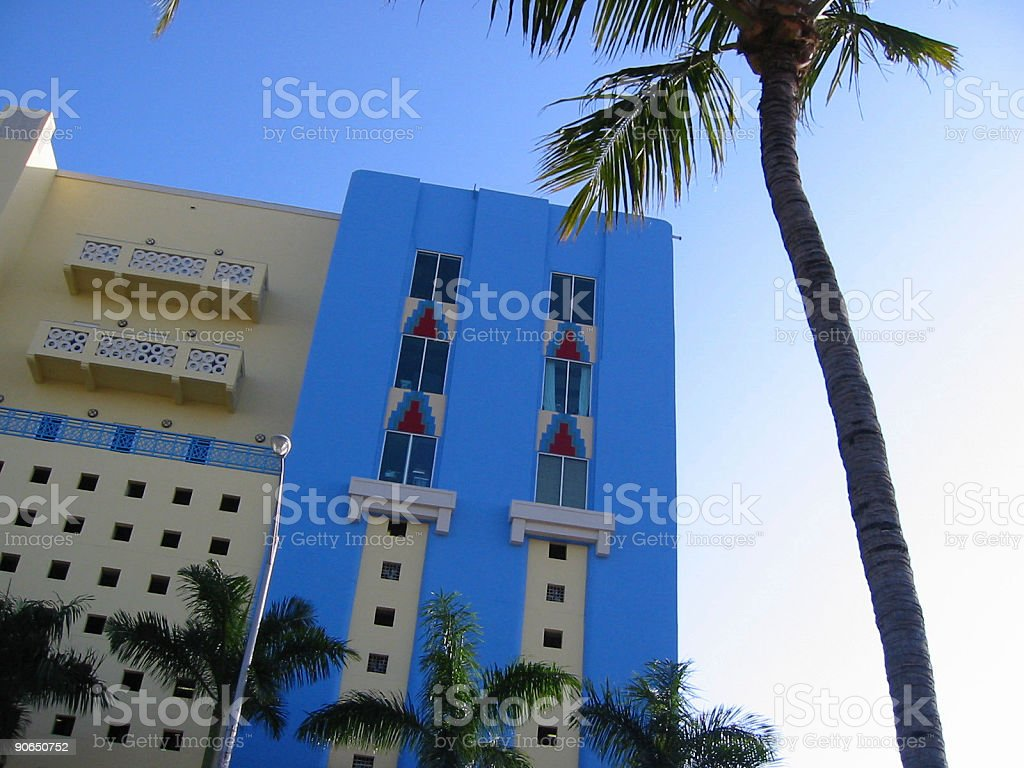 South Beach Colors royalty-free stock photo