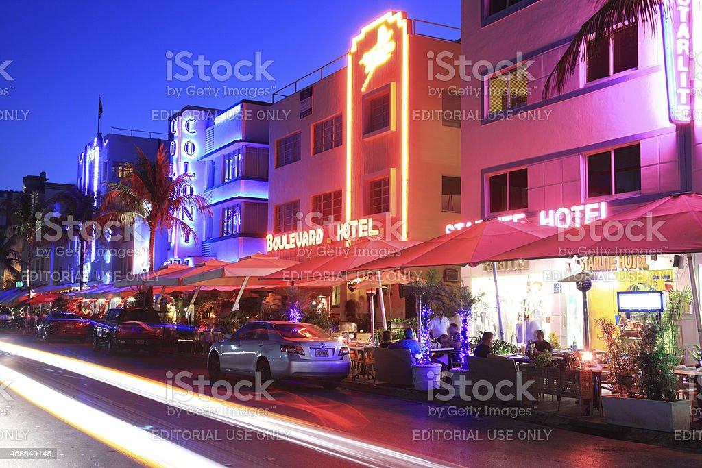 South Beach, Miami, Florida royalty-free stock photo