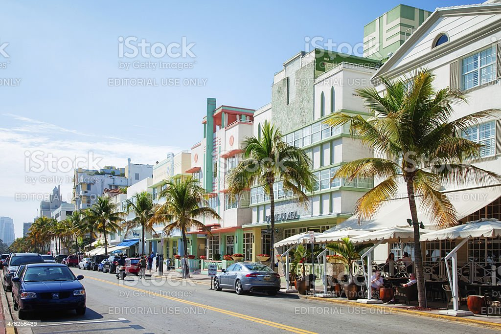 South Beach Miami Florida stock photo