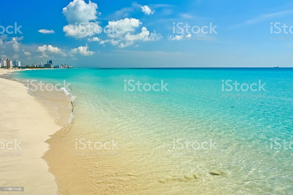 South Beach Miami stock photo
