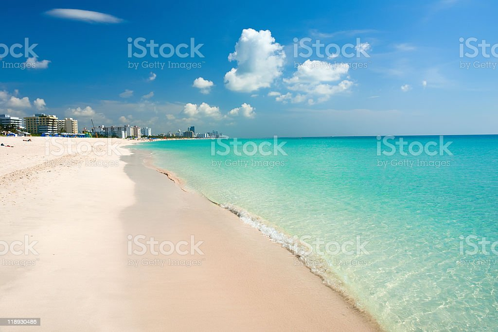 South Beach, Miami stock photo