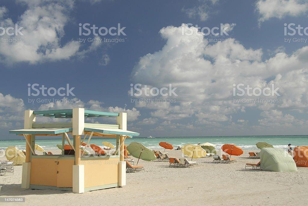 South Beach, Miami royalty-free stock photo