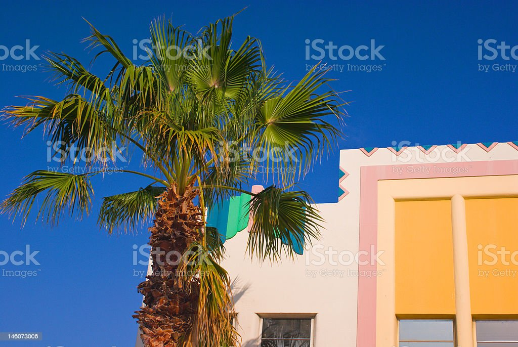 South Beach stock photo