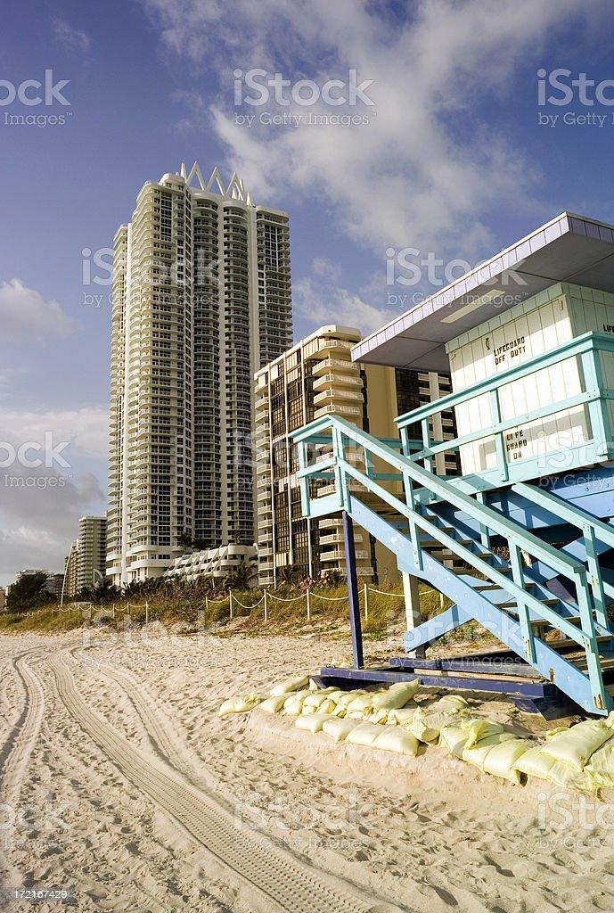 South Beach royalty-free stock photo
