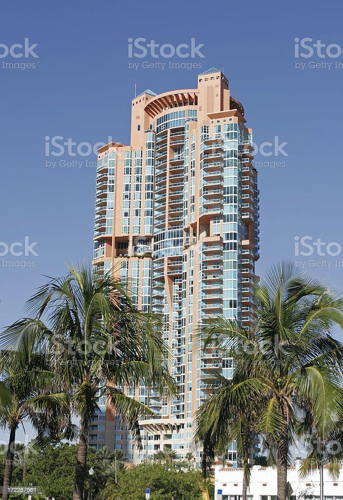 South Beach Skyscraper stock photo