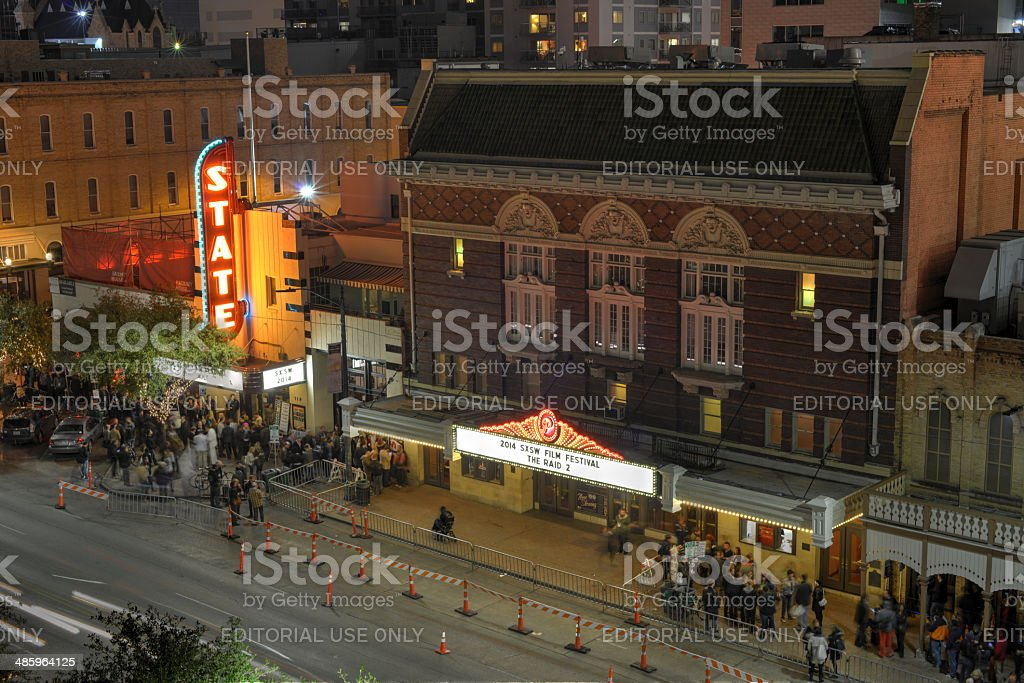 South by Southwest, Austin, Texas stock photo